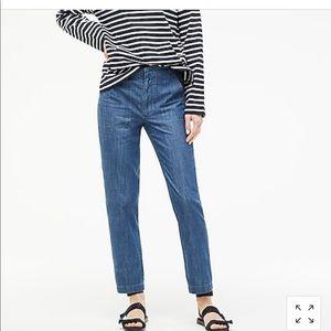 Jcrew lightweight denim pants